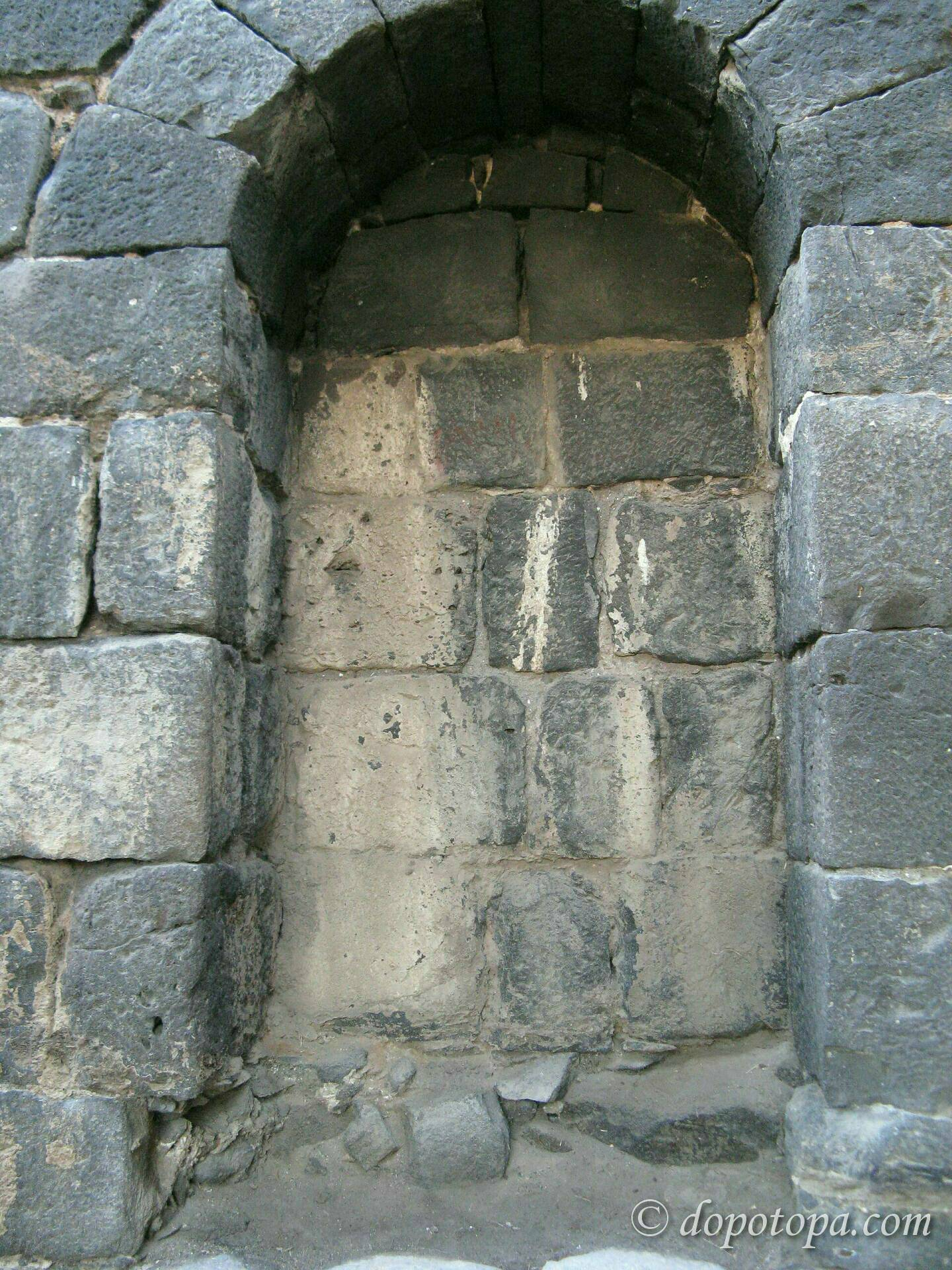 Stonework Granite Block : Building blocks of antique and medieval time earth