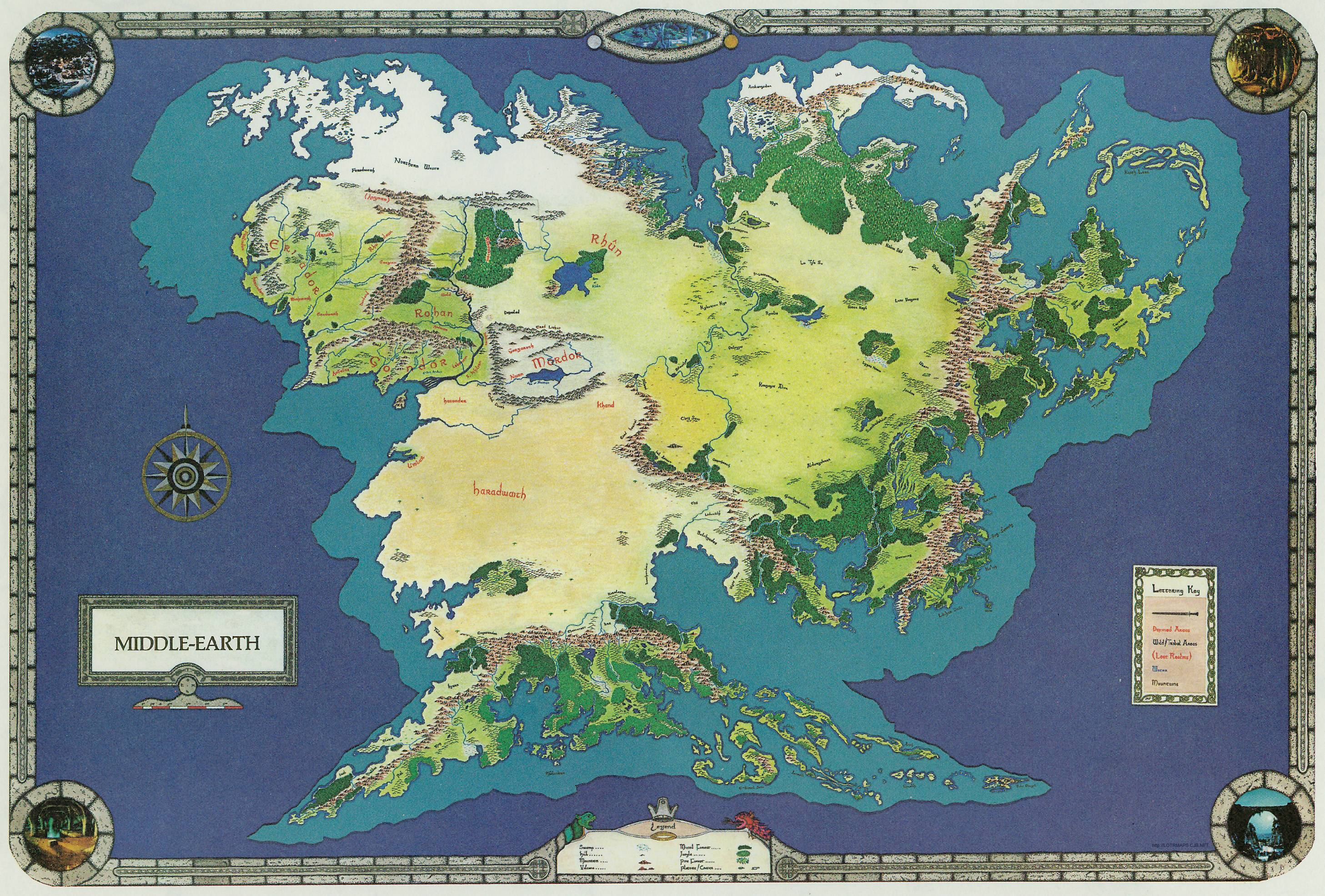 middle earth the real country of the neogene period