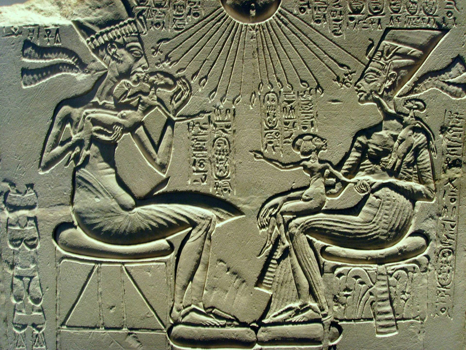 akhenaten and religion Amenhotep iv, also known as the pharaoh akhenaten, was destined to be remembered for his attempt at a religious conversion of ancient egypt one that saw the old gods put aside and replaced by a si.