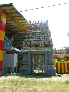 Индуистский храм Murugan Kovil, Madampe (Sri lanka)