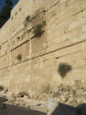 Temple mount megaliths. Иерусалимский археологический парк (Израиль)