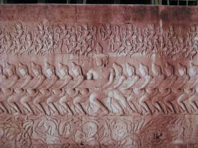 Churning, Angkor Wat. Пахтание океана, Ангкор Ват, Камбоджа