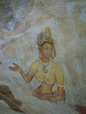 Фрески Сигирии, Шри Ланка (Sygirian woman, Sri Lanka)